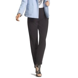 NWT Chico's Pinstripe Tapered Ankle Pants